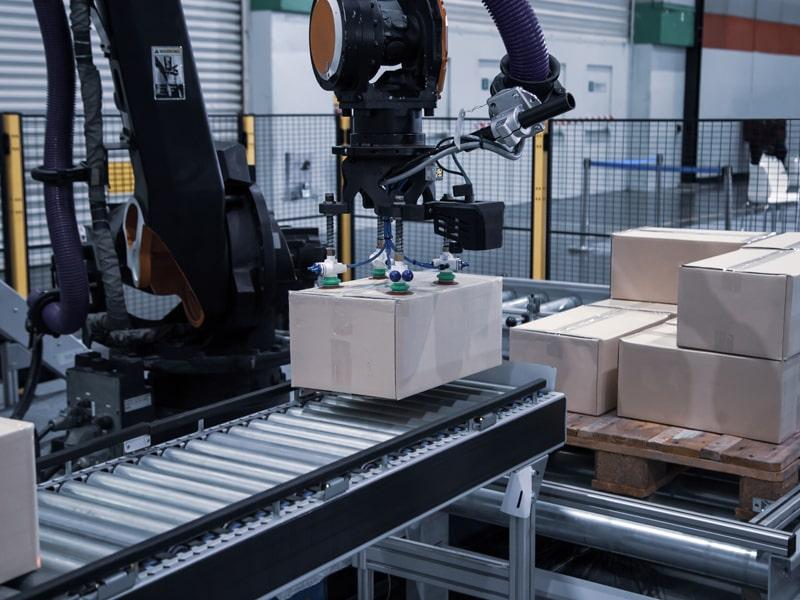 Robotergreifer Industrie